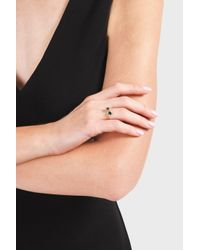 Monica Vinader - Multicolor Siren Small Stacking Ring - Lyst