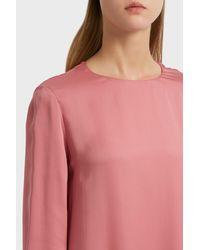 The Row Pink Antoi Maxi Dress