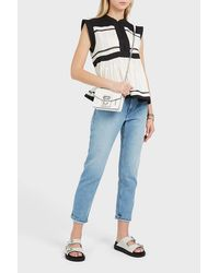 Étoile Isabel Marant Multicolor Ransom Sleeveless Cotton Top