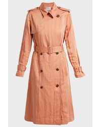 10 Crosby Derek Lam Multicolor Belted Trench Coat