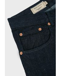 Maison Kitsuné - Blue Parisien Jeans for Men - Lyst