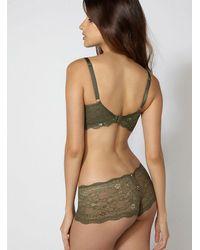 Boux Avenue - Green Chloe Lace Shorts - Lyst