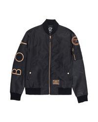 BOY London Boy Eagle Backprint Bomber Black/rose Gold