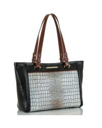 Brahmin Natural Medium Arno Beige Estero