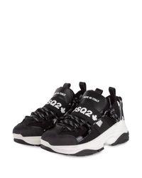DSquared² Black Plateau-Sneaker D-BUMPY ONE