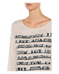 MARC AUREL Natural T-Shirt