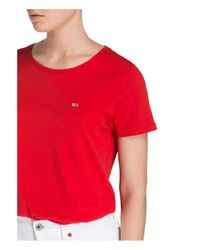 Tommy Hilfiger Red T-Shirt
