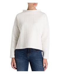 Opus White Sweatshirt GUSMA