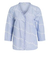 Phase Eight Blue Bluse DAISY