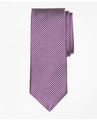 Brooks Brothers | Purple Houndscheck Tie for Men | Lyst