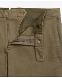 Brooks Brothers - Green Soho Fit Garment-dyed Stretch Broken Twill Chinos for Men - Lyst