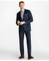 Brooks Brothers Blue Slim Fit Brookscool Suit for men