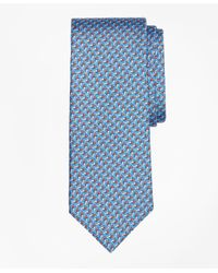 Brooks Brothers - Blue Windboard Print Tie for Men - Lyst