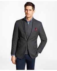 Brooks Brothers - Gray Regent Fit Hopsack Sport Coat for Men - Lyst