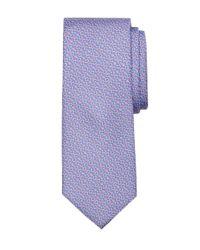 Brooks Brothers Purple Rope Bit Link Print Tie for men