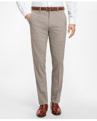 Brooks Brothers Multicolor Regent Fit Brookscool® Houndstooth Trousers for men
