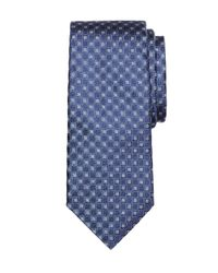 Brooks Brothers | Blue Four-petal Flower Tie for Men | Lyst