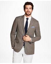 Brooks Brothers - Brown Regent Fit Hopsack Sport Coat for Men - Lyst