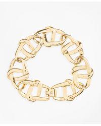 Brooks Brothers Metallic Gold-plated Nautical Link Bracelet