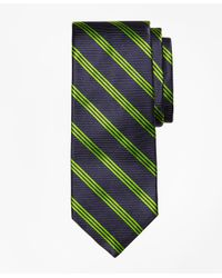 Brooks Brothers - Blue Stripe Tie for Men - Lyst