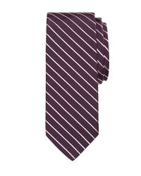 Brooks Brothers | Purple Mogador Stripe Tie for Men | Lyst