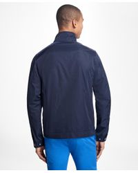 Brooks Brothers - Blue Water-repellant Utility Jacket for Men - Lyst