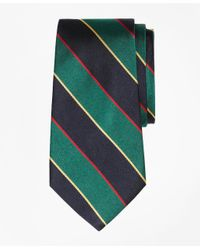 Brooks Brothers Green Argyle Sutherland Tie for men