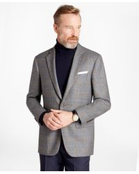 Brooks Brothers | Gray Madison Fit Plaid With Deco Sport Coat for Men | Lyst