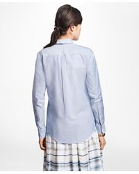Brooks Brothers - Blue Classic-fit Supima® Cotton Oxford Button-down Shirt - Lyst