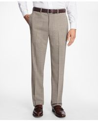 Brooks Brothers Multicolor Madison Fit Brookscool® Houndstooth Trousers for men