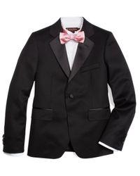 Brooks Brothers Black One-button Tuxedo Prep Jacket for men