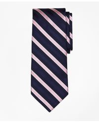 Brooks Brothers | Blue Textured Tonal Stripe Tie for Men | Lyst
