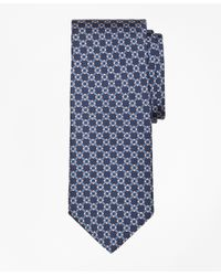 Brooks Brothers | Blue Diamond Link Print Tie for Men | Lyst