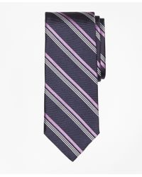 Brooks Brothers | Blue Mini Music Sidewheeler Stripe Tie for Men | Lyst