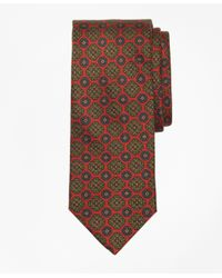 Brooks Brothers   Red Ancient Madder Medallion Tie for Men   Lyst