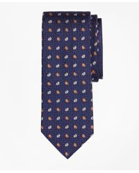 Brooks Brothers | Blue Parquet Tossed Pine Tie for Men | Lyst