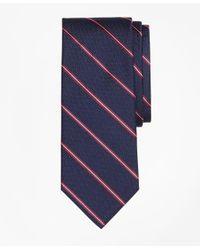 Brooks Brothers   Blue Spaced Framed Stripe Tie for Men   Lyst