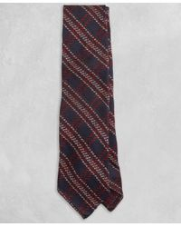 Brooks Brothers   Blue Golden Fleece® Navy And Burgundy Plaid Tie for Men   Lyst