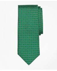 Brooks Brothers   Green Circle Link Print Tie for Men   Lyst