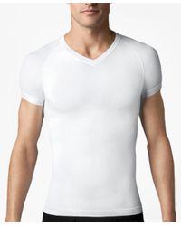 Brooks Brothers - White Spanx® Zoned Performance V-neck for Men - Lyst