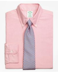 Brooks Brothers | Pink Milano Fit Original Polo® Button-down Oxford Dress Shirt for Men | Lyst