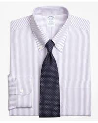 Brooks Brothers | Purple Non-iron Regent Fit Bengal Stripe Dress Shirt for Men | Lyst