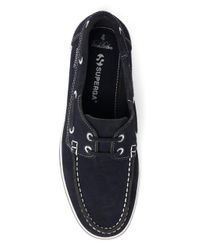 Brooks Brothers - Blue Superga® Suede Boat Shoes for Men - Lyst