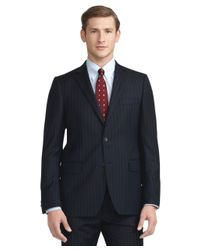 Brooks Brothers | Blue Fitzgerald Fit Wide Stripe 1818 Suit for Men | Lyst