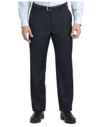 Brooks Brothers - Blue Fitzgerald Fit Wide Stripe 1818 Suit for Men - Lyst