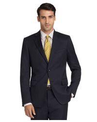Brooks Brothers - Black Regent Fit Stripe 1818 Suit for Men - Lyst
