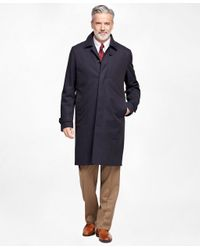Brooks Brothers - Blue Newbury Trench Coat for Men - Lyst