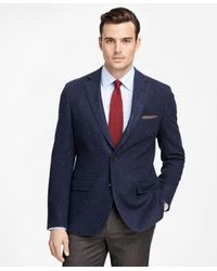 Brooks Brothers | Blue Fitzgerald Fit Two-button Wool Sport Coat for Men | Lyst