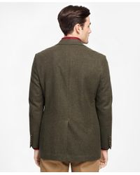 Brooks Brothers - Green Fitzgerald Fit Two-button Wool Sport Coat for Men - Lyst