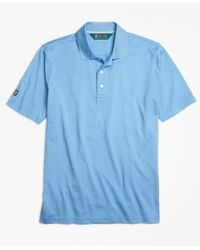Brooks Brothers | Blue St Andrews Links Golf Polo Shirt for Men | Lyst